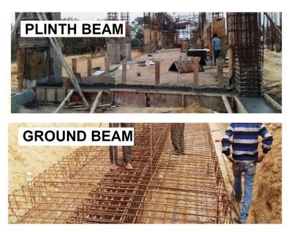 What is the Difference between a Plinth Beam & Ground Beam?